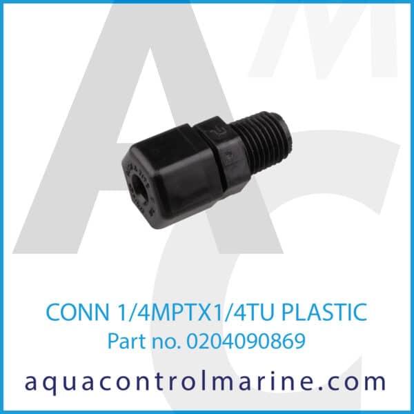 CONN 1_4MPTX1_4TU PLASTIC