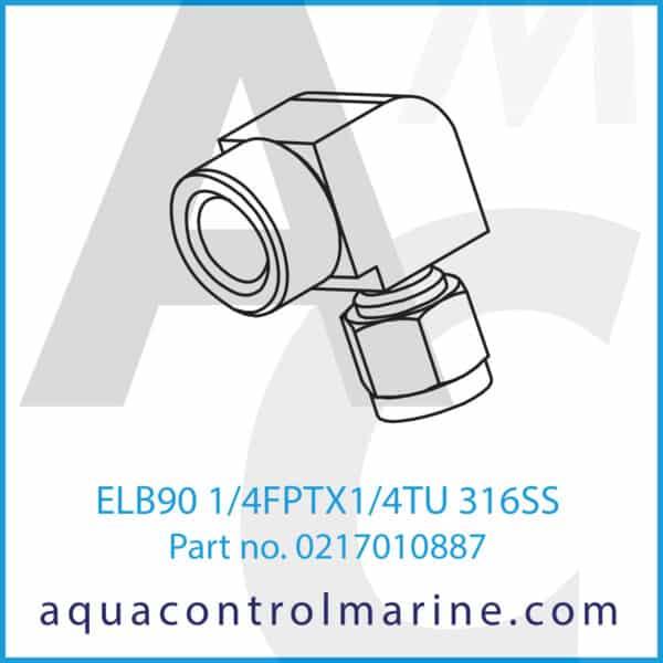ELB90 1_4FPTX1_4TU 316SS