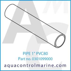 PIPE 1inch PVC80