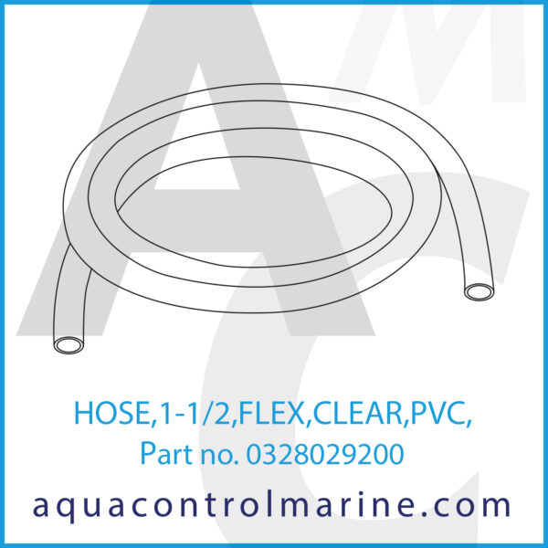 HOSE,1-1_2,FLEX,CLEAR,PVC,