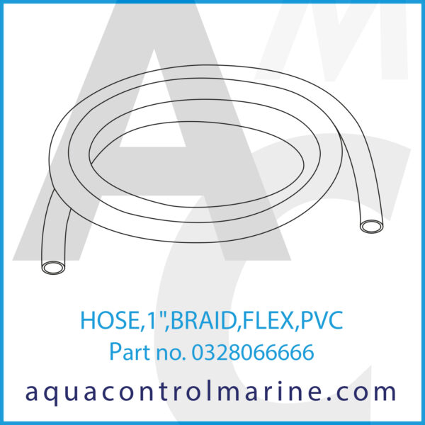 HOSE,1inch,BRAID,FLEX,PVC
