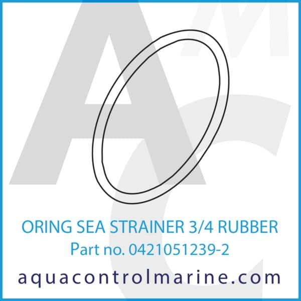 ORING SEA STRAINER 3_4 RUBBER