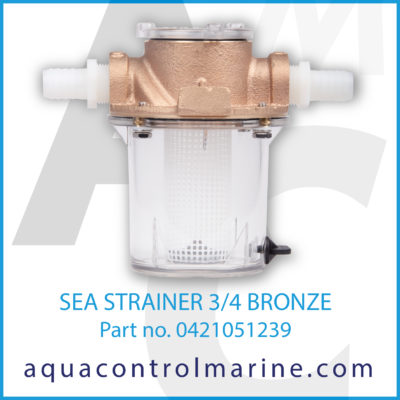 SEA STRAINER 3/4 BRONZE - 0421051239