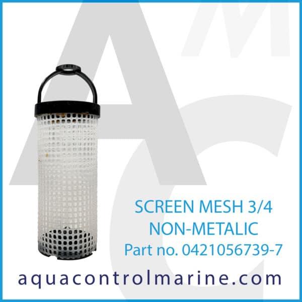 SCREEN MESH 3_4 NON-METALIC