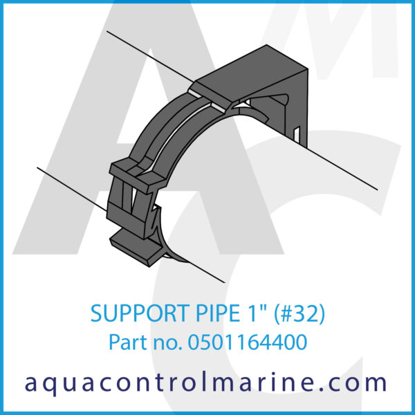 SUPPORT PIPE 1 inch (#32)