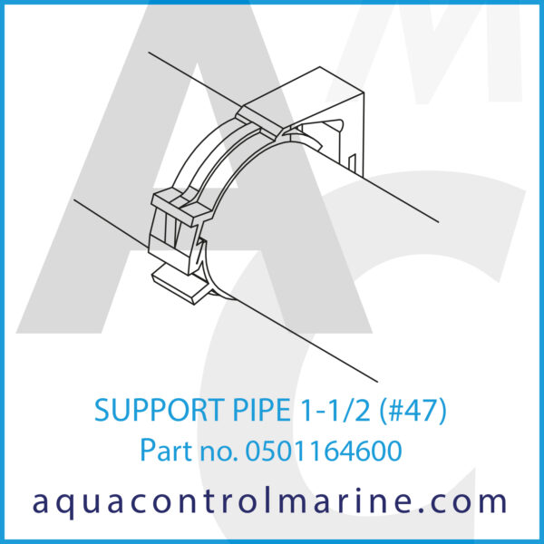 SUPPORT PIPE 1-1_2 (#47)