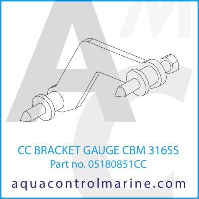 BRACKET GAUGE CBM 316SS