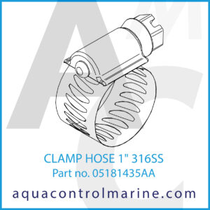 CLAMP HOSE 1inch 316SS