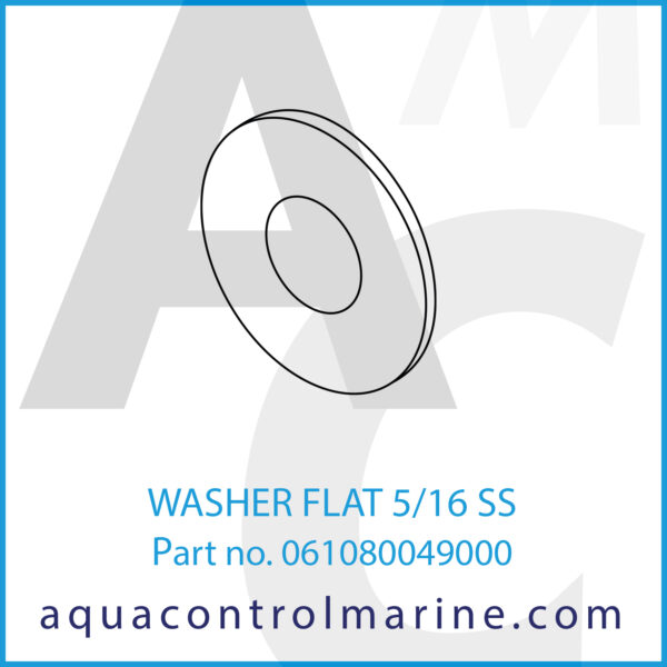WASHER FLAT 5_16 SS