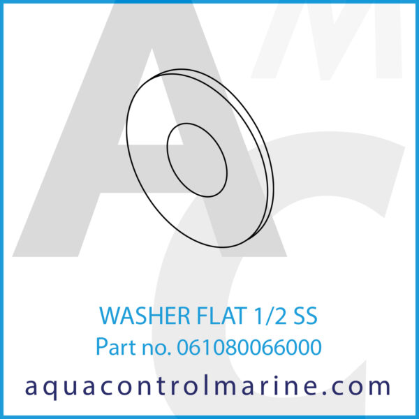 WASHER FLAT 1_2 SS