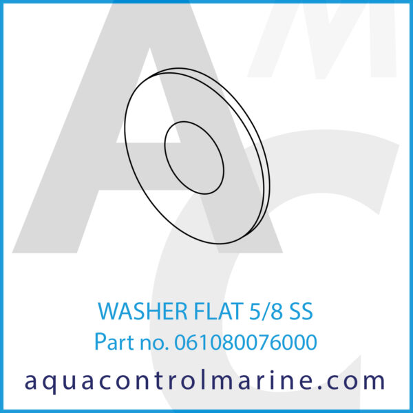 WASHER FLAT 5_8 SS