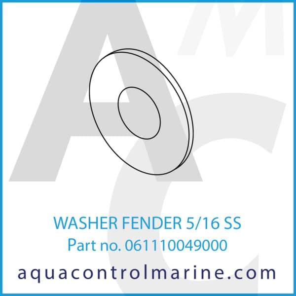 WASHER FENDER 5_16 SS