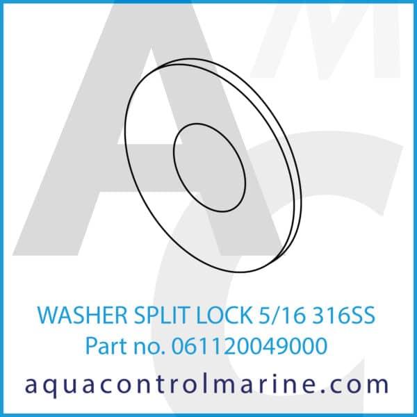 WASHER SPLIT LOCK 5_16 316SS