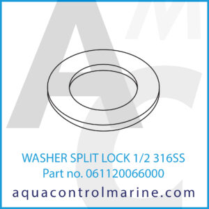 WASHER SPLIT LOCK 1_2 316SS