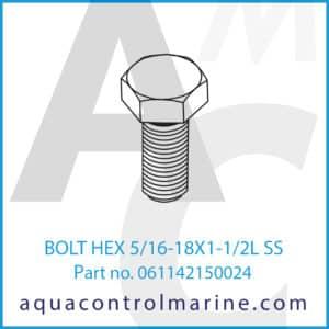 BOLT HEX 5_16-18X1-1_2L SS