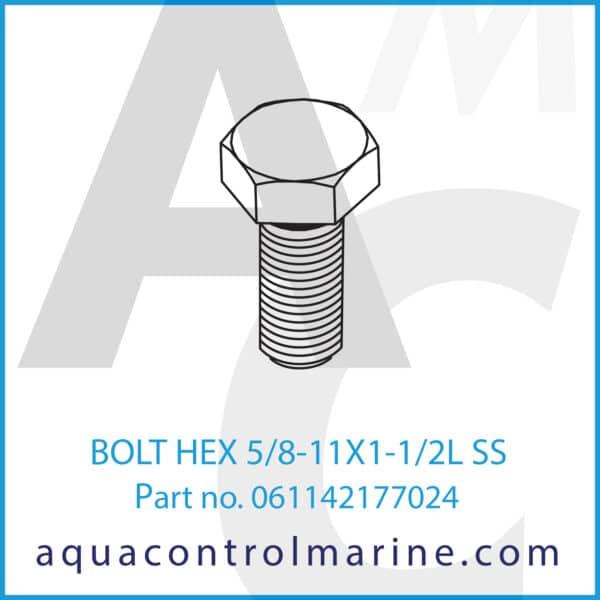 BOLT HEX 5_8-11X1-1_2L SS