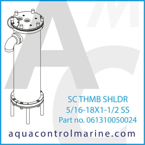 SC THMB SHLDR 5_16-18X1-1_2 SS