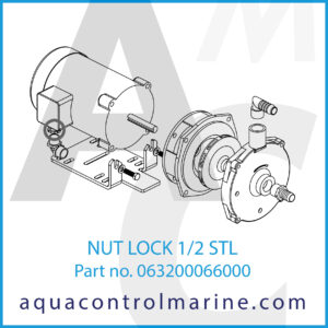 NUT LOCK 1_2 STL