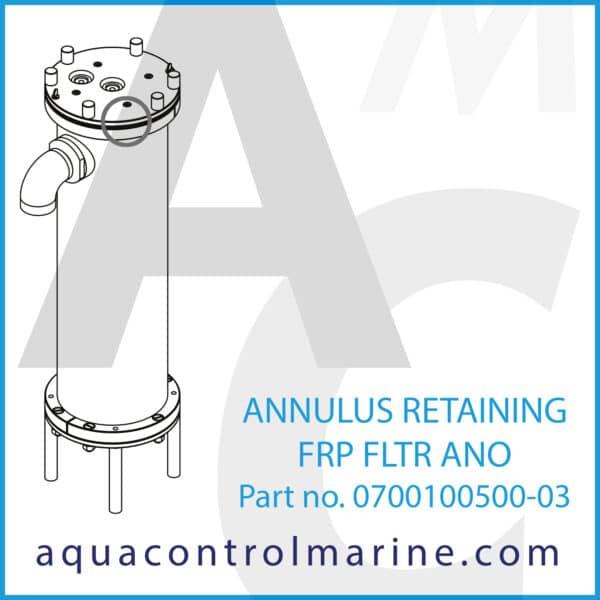 ANNULUS RETAINING FRP FLTR ANO