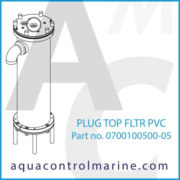 PLUG TOP FLTR PVC