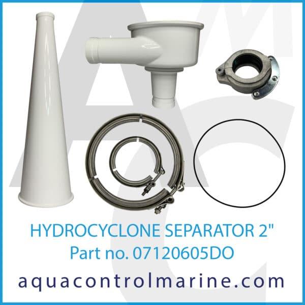 HYDROCYCLONE SEPARATOR 2inch