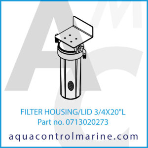 FILTER HOUSING_LID 3_4X20inchL