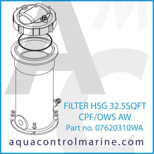 FILTER HSG 32.5SQFT CPF_OWS AW