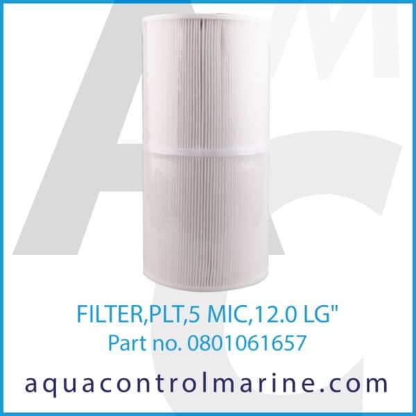 FILTER,PLT,5 MIC,12.0 LG