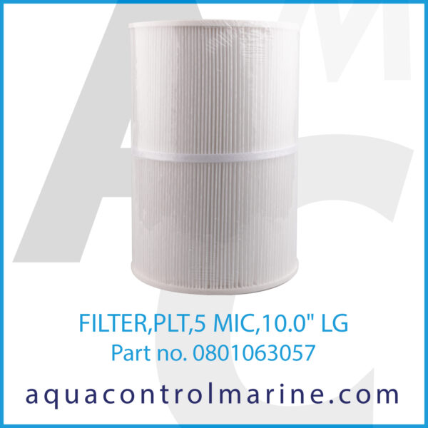 FILTER,PLT,5 MIC,10.0inch LG