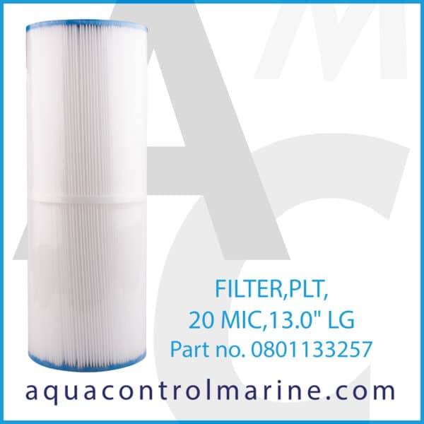 FILTER,PLT,20 MIC,13.0inch LG