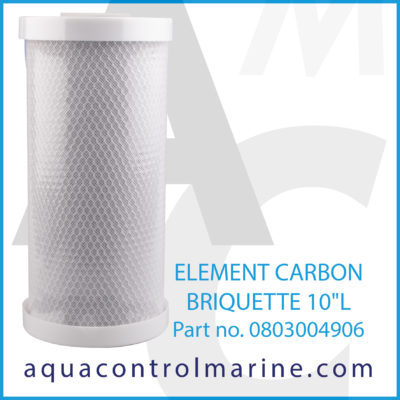ELEMENT CARBON BRIQUETTE 10""