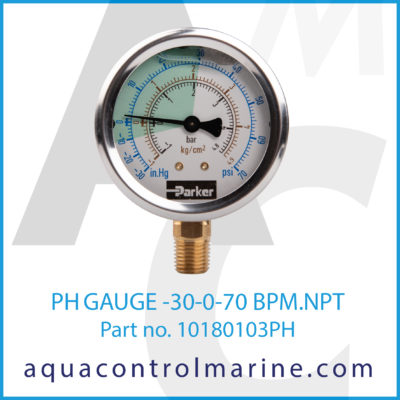 GAUGE -30-0-70 BPM.NPT