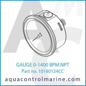 GAUGE 0-1400 BPM.NPT
