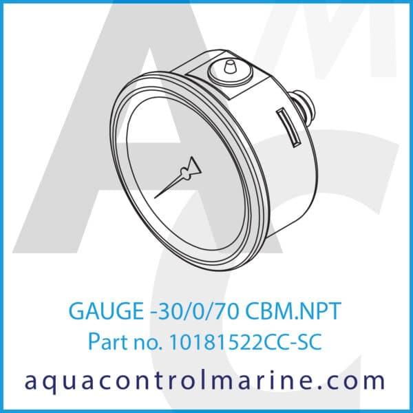 GAUGE -30_0_70 CBM.NPT