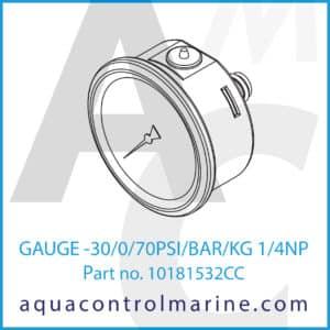 GAUGE -30_0_70PSI_BAR_KG 1_4NP