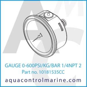 GAUGE 0-600PSI_KG_BAR 1_4NPT 2