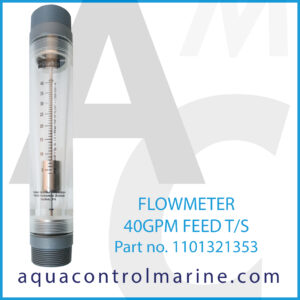 FLOWMETER 40GPM FEED T_S