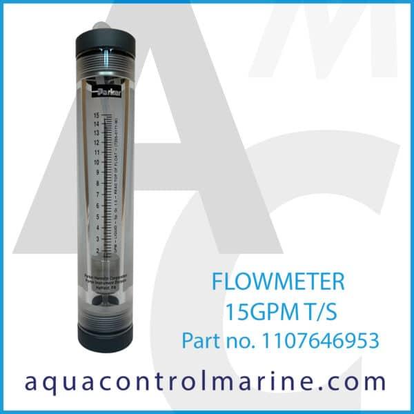 FLOWMETER 15GPM T_S