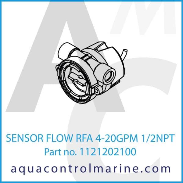 SENSOR FLOW RFA 4-20GPM 1_2NPT