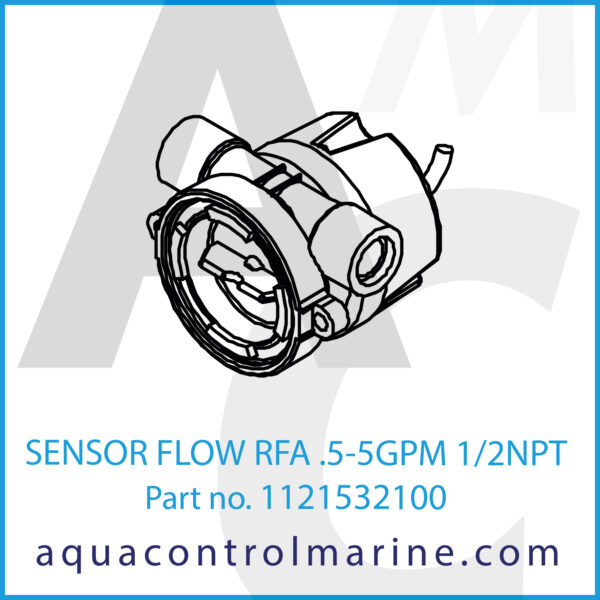 SENSOR FLOW RFA .5-5GPM 1_2NPT