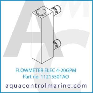 FLOWMETER ELEC 4-20GPM
