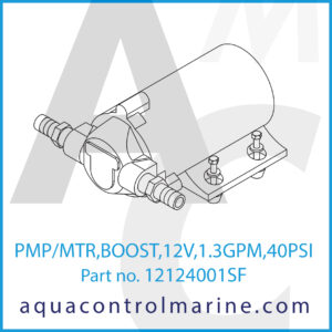PMP_MTR,BOOST,12V,1.3GPM,40PSI