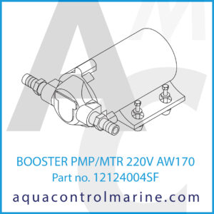 BOOSTER PMP_MTR 220V AW170