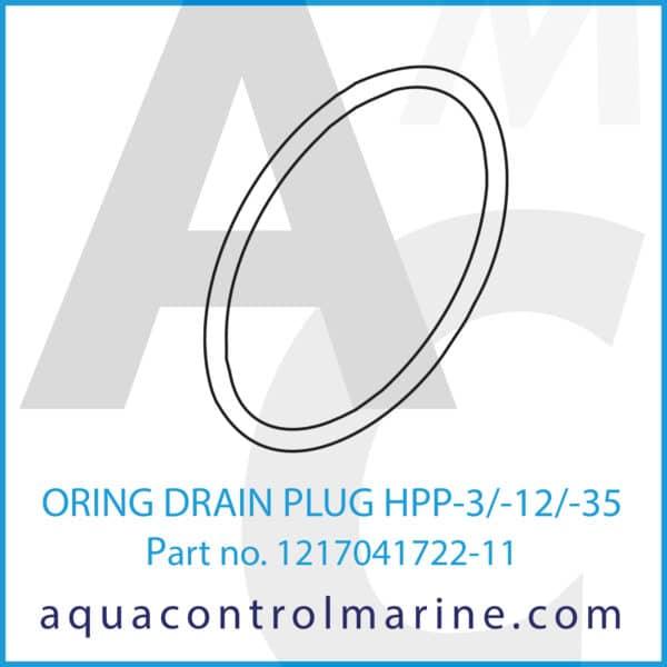 ORING DRAIN PLUG HPP-3_-12_-35