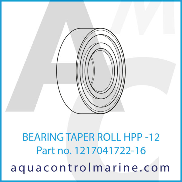 BEARING TAPER ROLL HPP -12