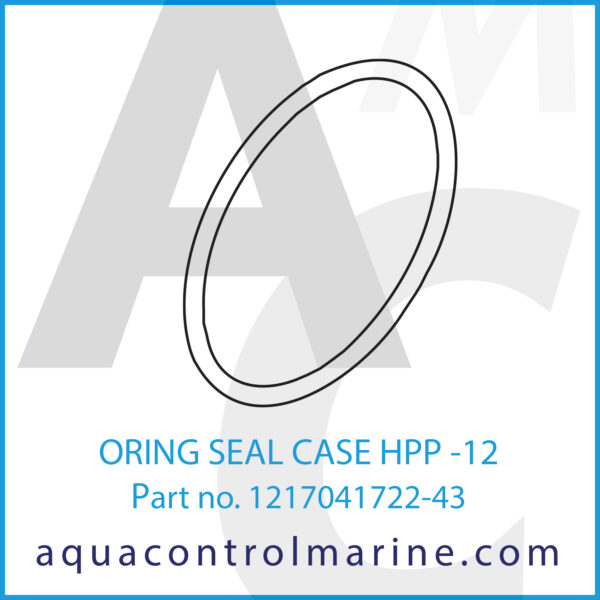 ORING SEAL CASE HPP -12