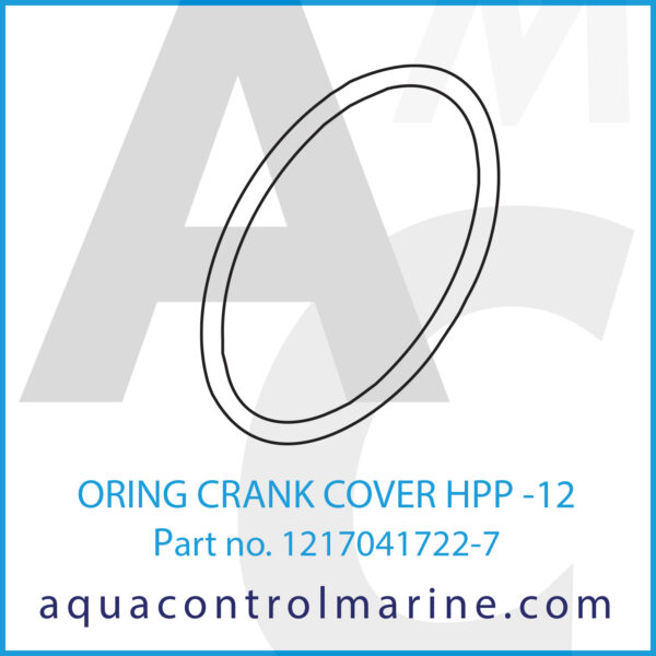 ORING CRANK COVER HPP -12