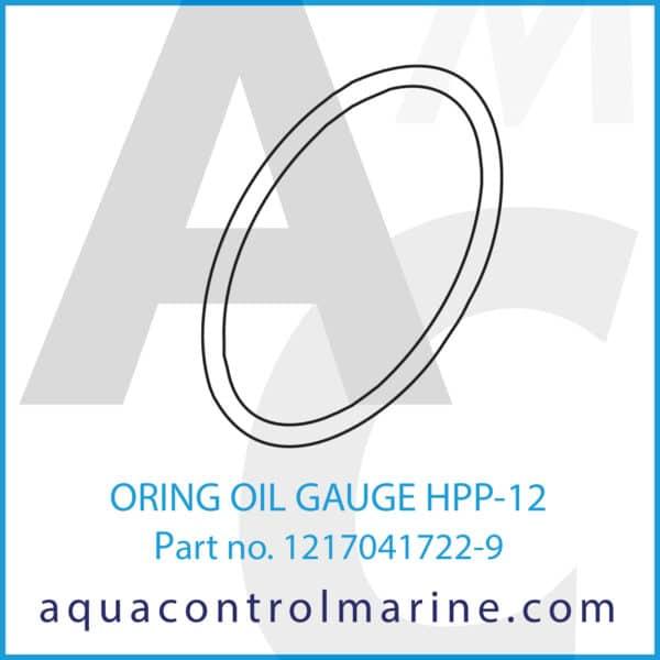 ORING OIL GAUGE HPP-12