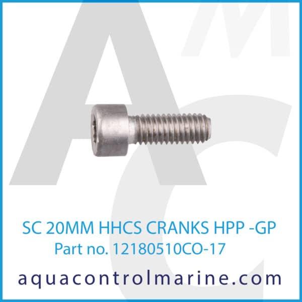 SC 20MM HHCS CRANKS HPP -GP - part