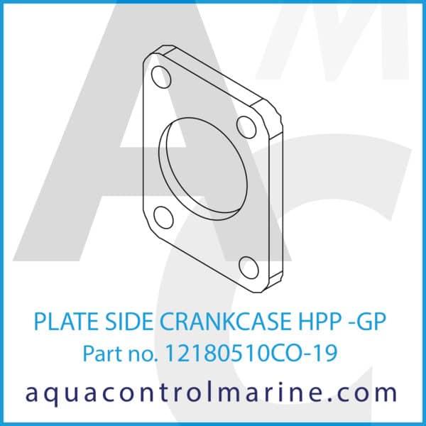 PLATE SIDE CRANKCASE HPP -GP